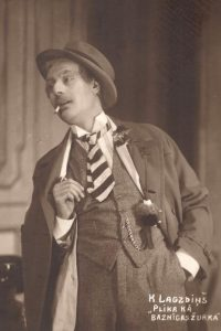 K. Lagzdiņš Plika kā baznīcas žurka, 1929